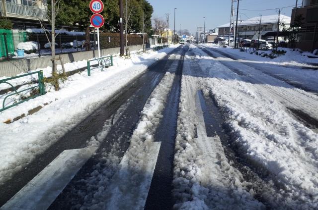 冬の安全運転アドバイス